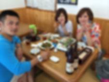 ダイビングの食事風景@初島.jpg