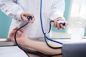 Принимая pressue крови