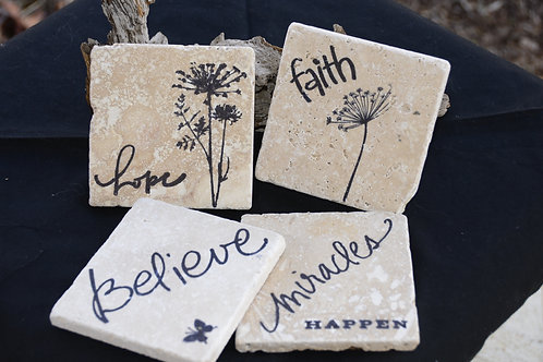 Inspirational Coaster Set