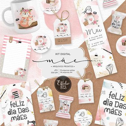 Kit Digital Mãe - Arquivos prontos