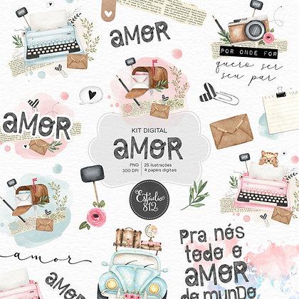 Kit Digital Amor
