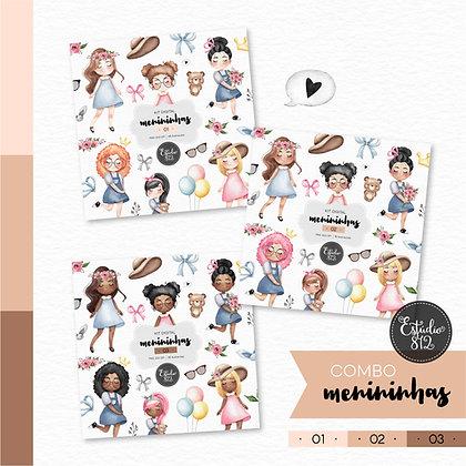 Combo Meninininhas - 3 kits