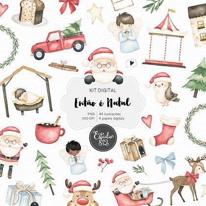Kit Digital Então é Natal