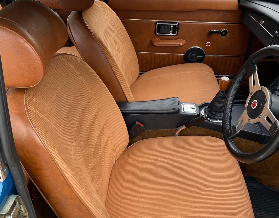 MGB GT Chrome Bumper