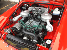 The MGB GT V8 engine bay story a complete engine bay restoration with engine rebuild#mg #mgb #gt #v8