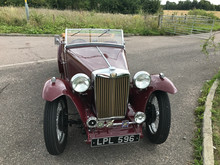 MG TC Restoration Complete