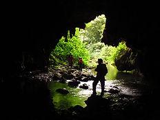 PETAR - Planeta Trilha - caverna