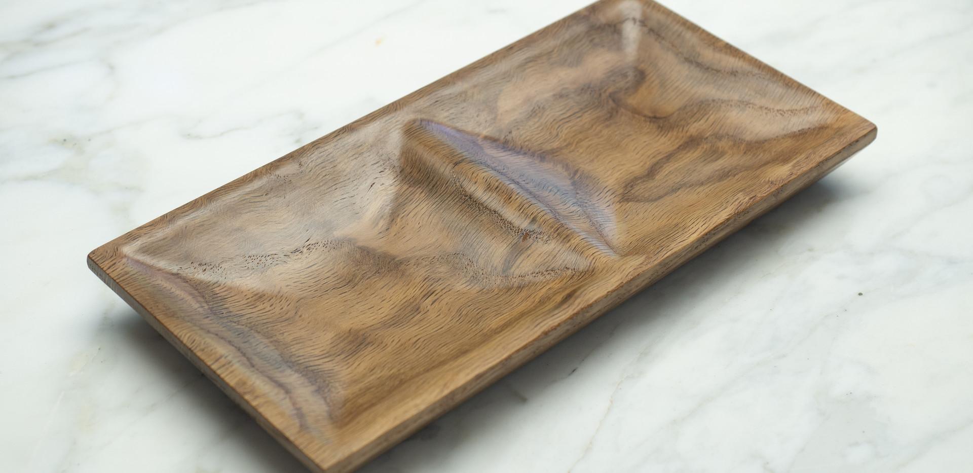Curly Oak Jewelry Dish