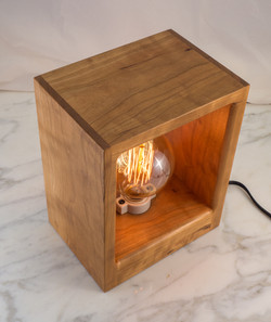 Cherry Antique Bulb Lamp