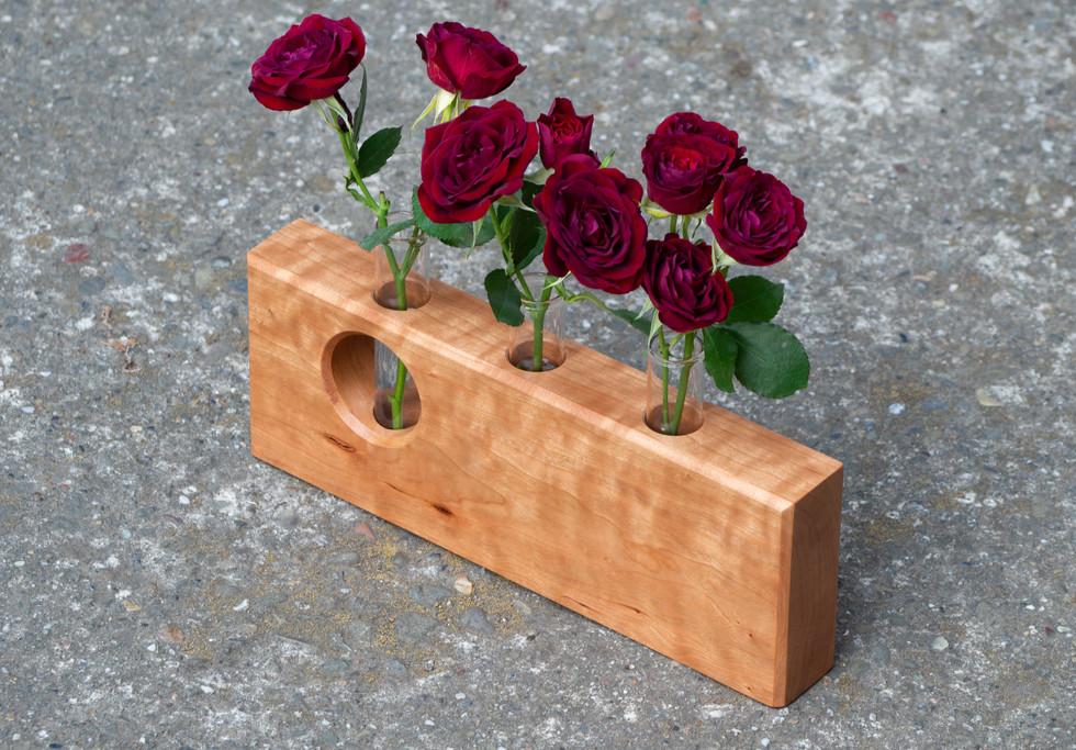 Cherry Bud Vase