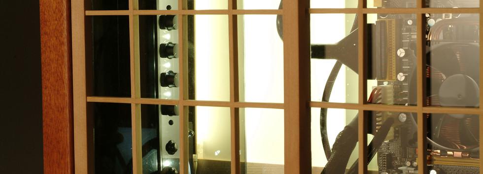 Sangaku Computer Case Window