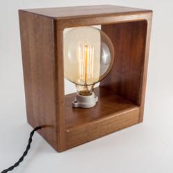 Makore Antique Bulb Lamp