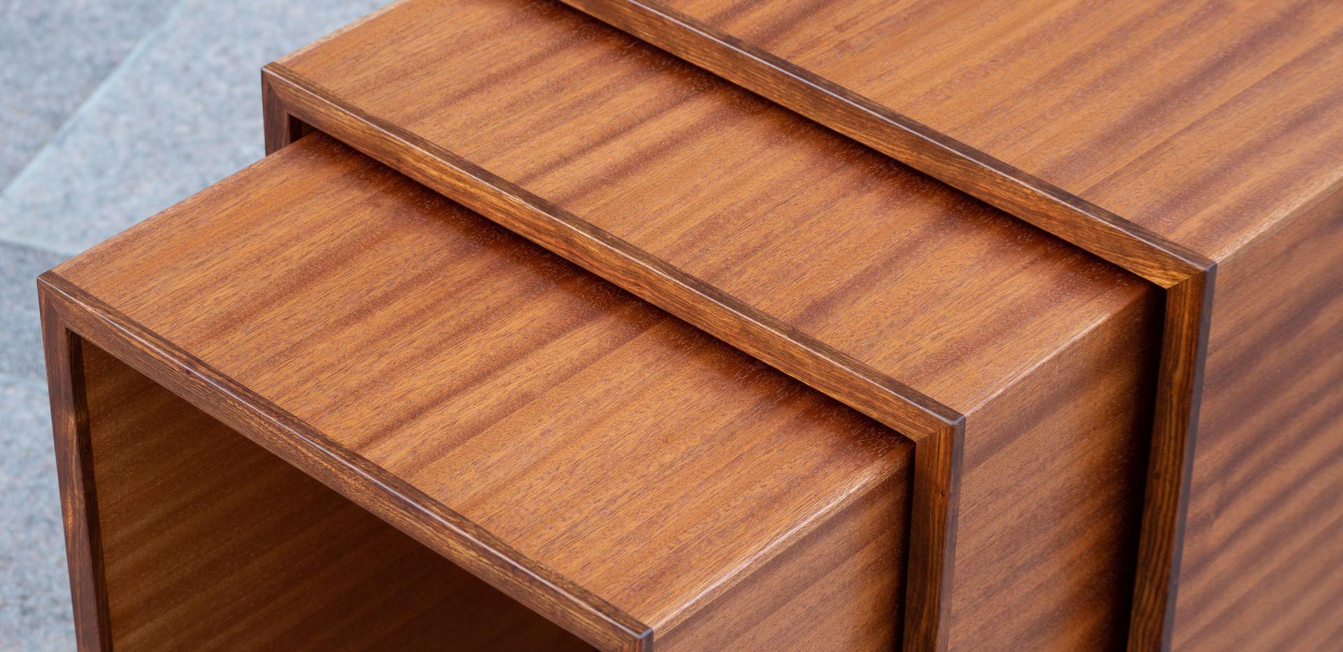 Sapele Nesting Tables