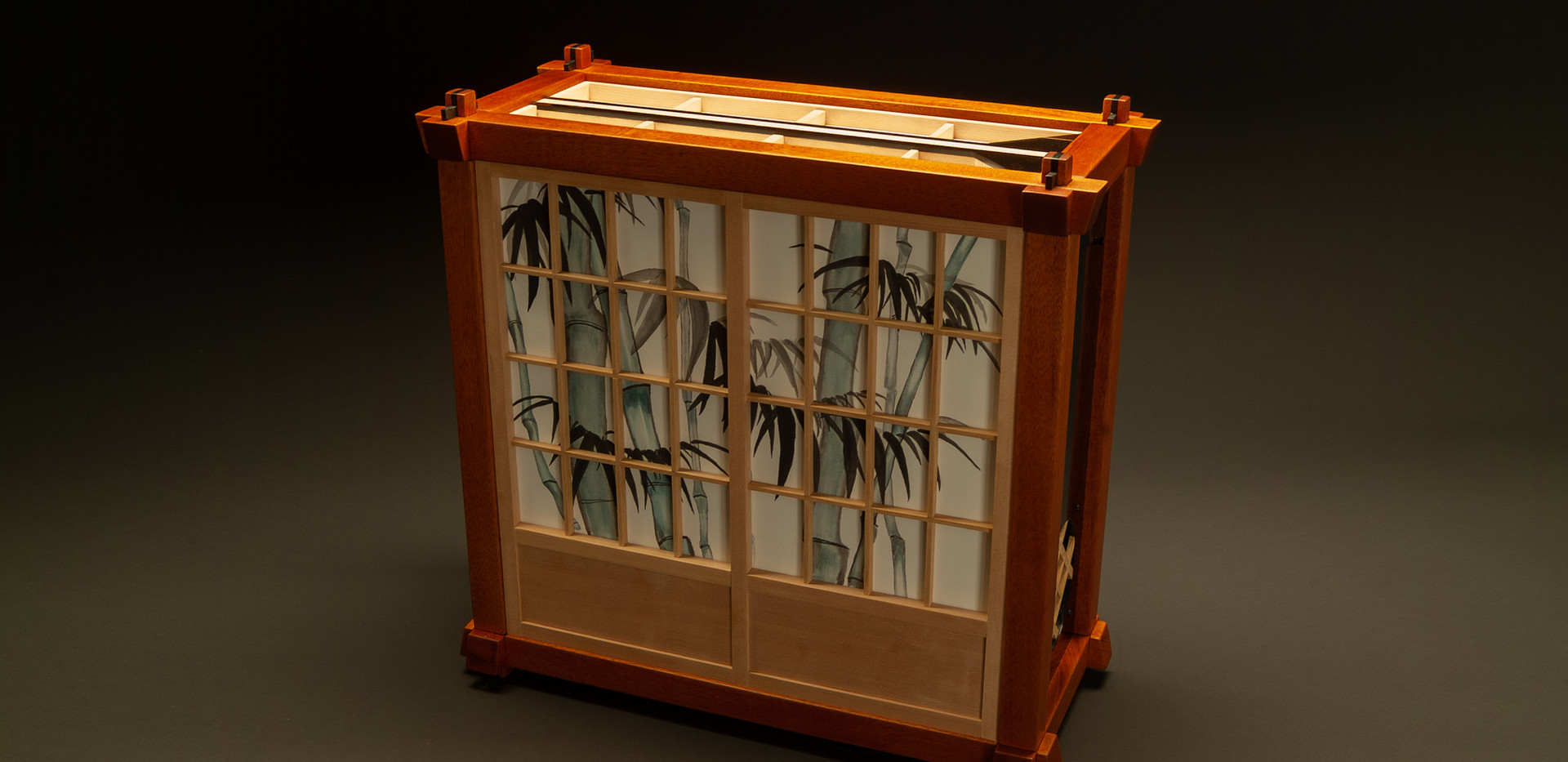Sangaku Computer Case Painting