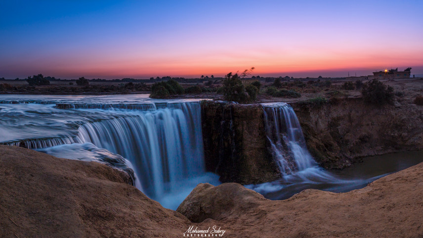 Fayoum water fall