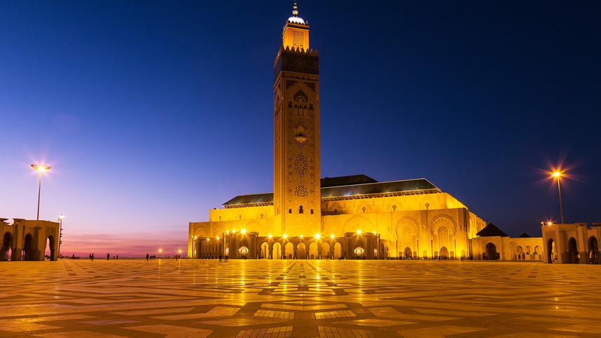 Mohammed II Mosque - Casablanca