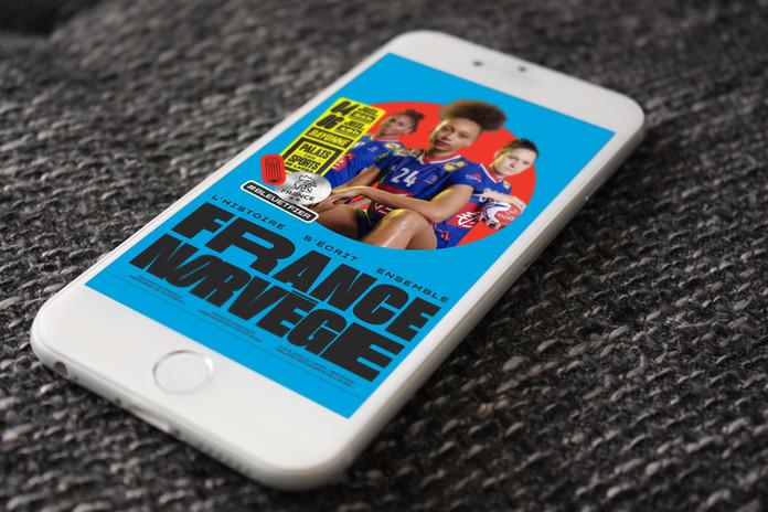 France/Norvège Prepa JO EDF Féminine Handball - FFHB