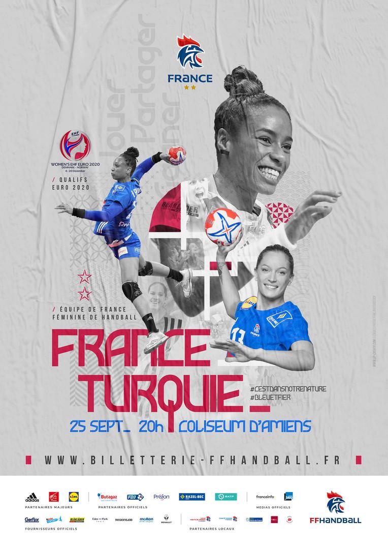 FRANCE vs TURQUIE / FFHB