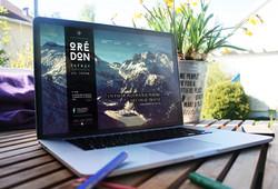 webdesign home refuge d'Oredon
