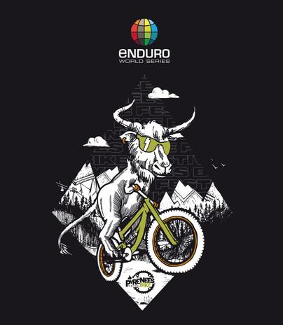 Visuel goodies Coupe du Monde Enduro / Pyrénées Bike Festival 2021