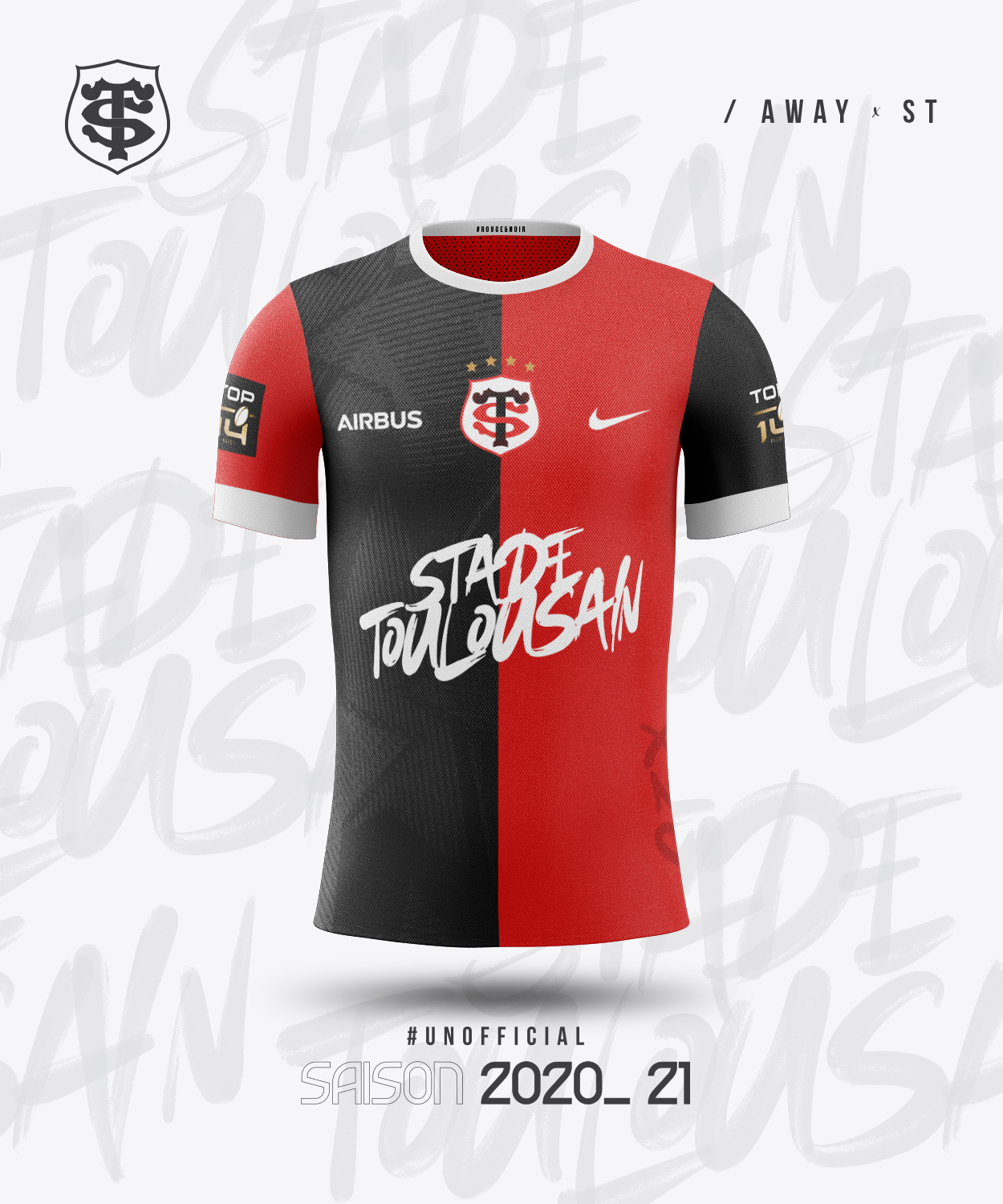 Maillot Away ST 2020-21