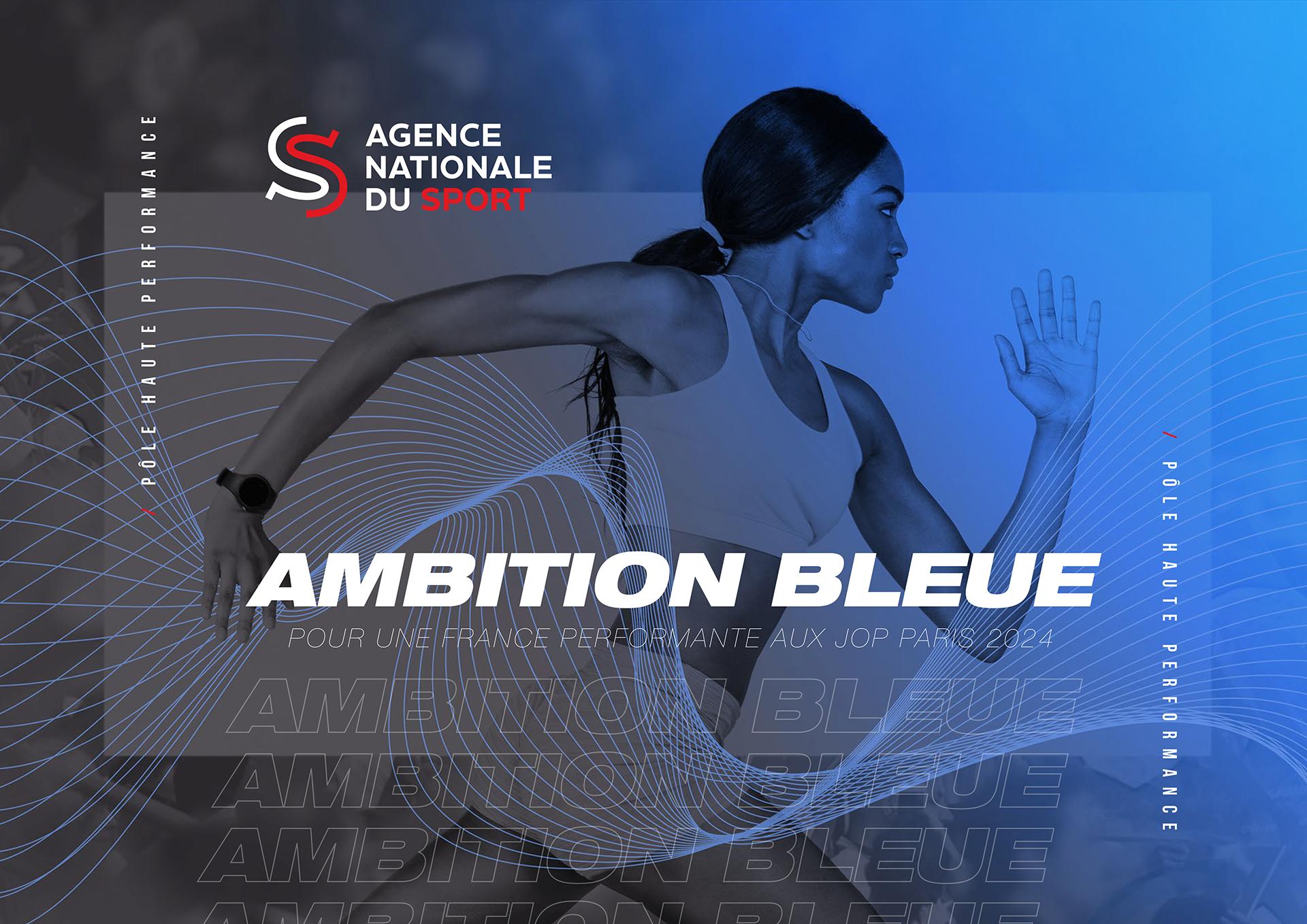 Couverture  brochure Ambition Bleue