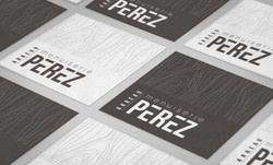 cartes de visite Menuiserie Perez