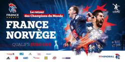 Visuel match France Norvège