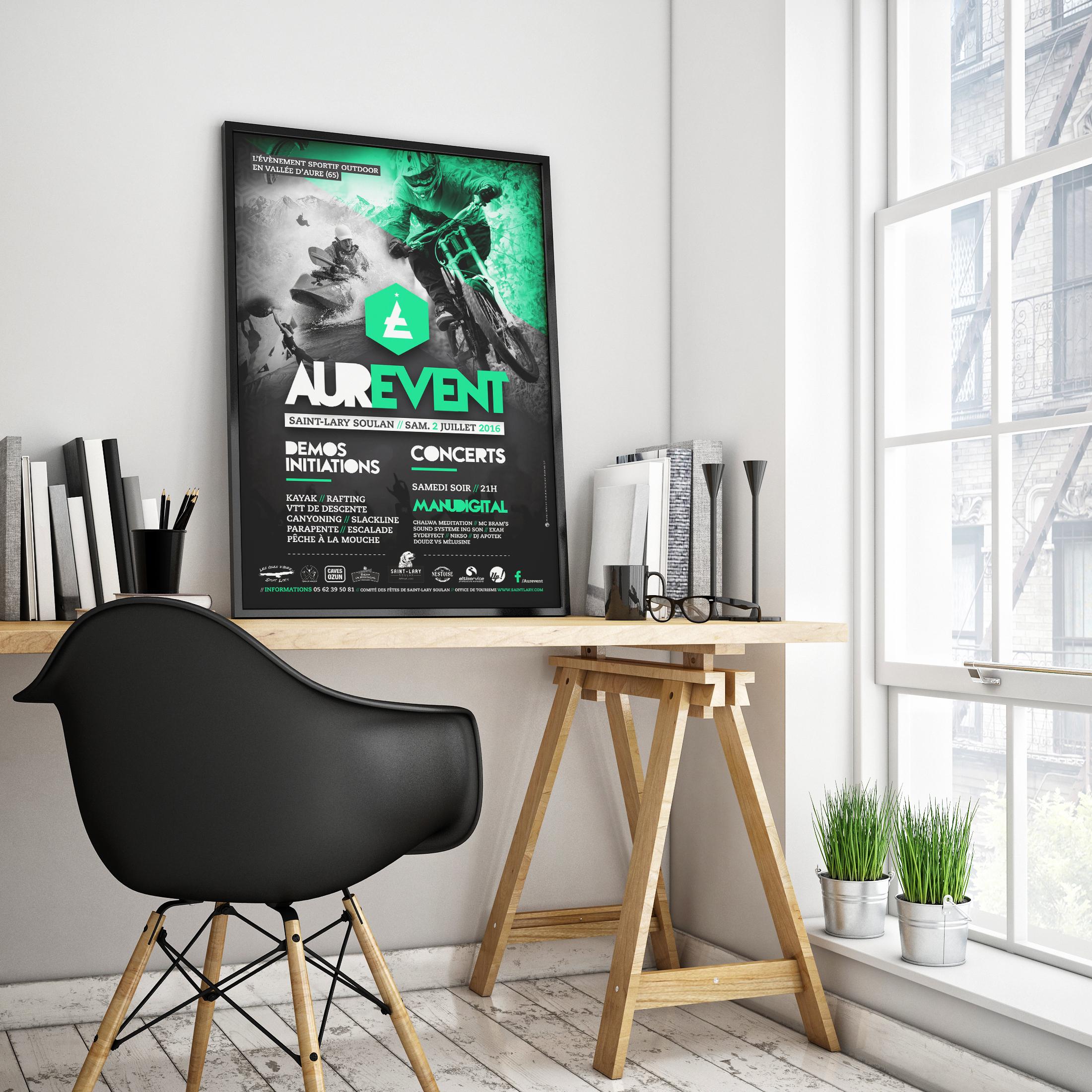 Affiche Aurevent 2016