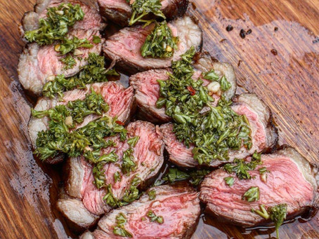Recipe: Grilled Culotte with Chimichurri