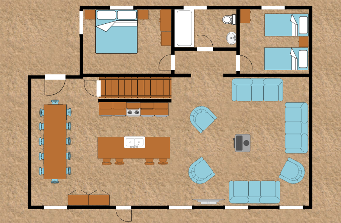 Unit 2 ground floor plan