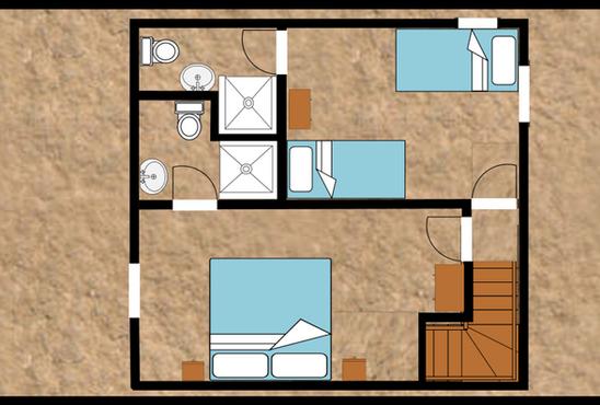 Unit 1 first floor plan
