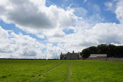 With 50 acres of rolling fields, there's lots to explore here at Manor Farm