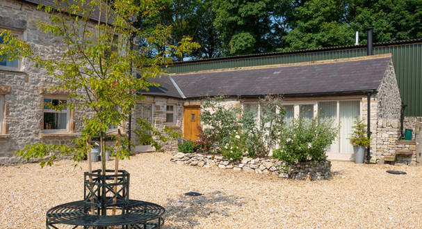 Set in a courtyard of 4 cottages