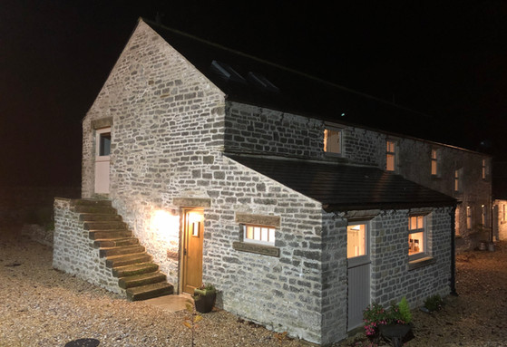 The Old Farmhouse by Night