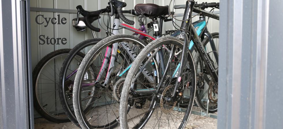Secure Cycle Storage