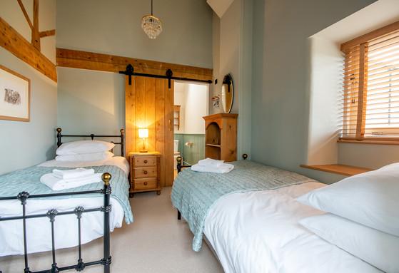 Twin second bedroom