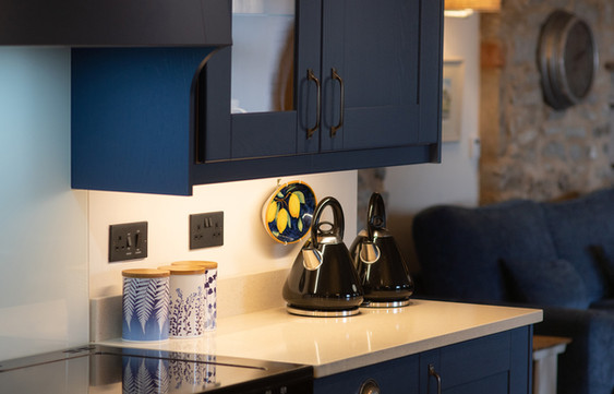 2 kettles, 2 dishwashers, and 2 fridges; this is designed for group catering