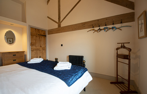 ONe of six double bedrooms