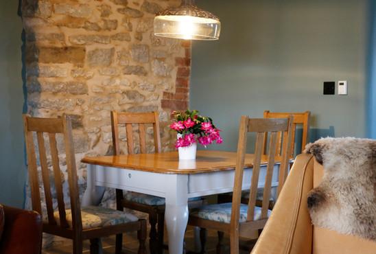 Old Farm House - dining table.JPG