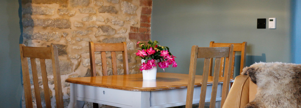 Old Farm House - dining table.JPG