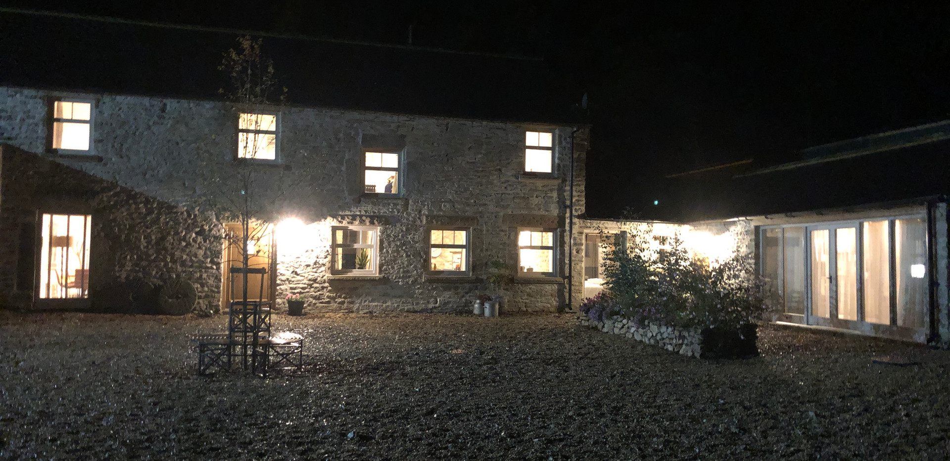 The Hayloft by Night