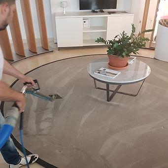 Nettoyage de tapis et meubles à vapeur