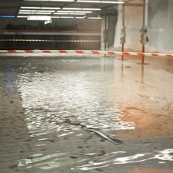Réparation dégâts d'eau