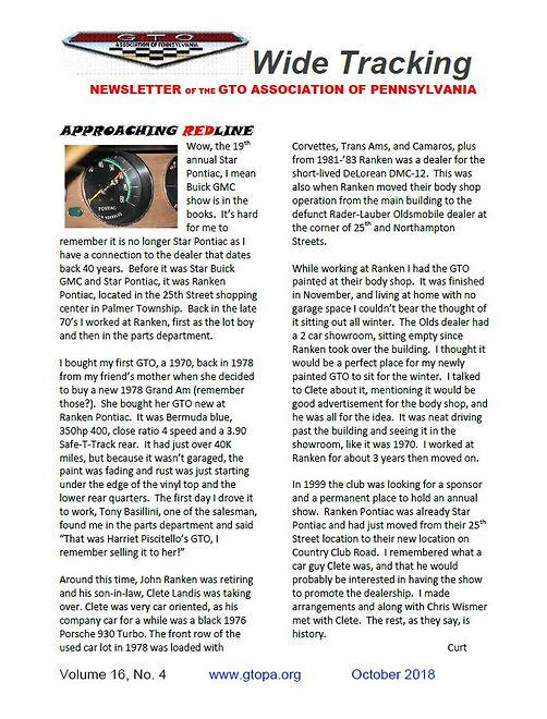 GTO PA October Page 1.JPG