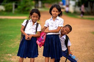 School kids at Rescue Cambodia