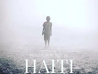 CALL TO PRAYER FOR HAITI