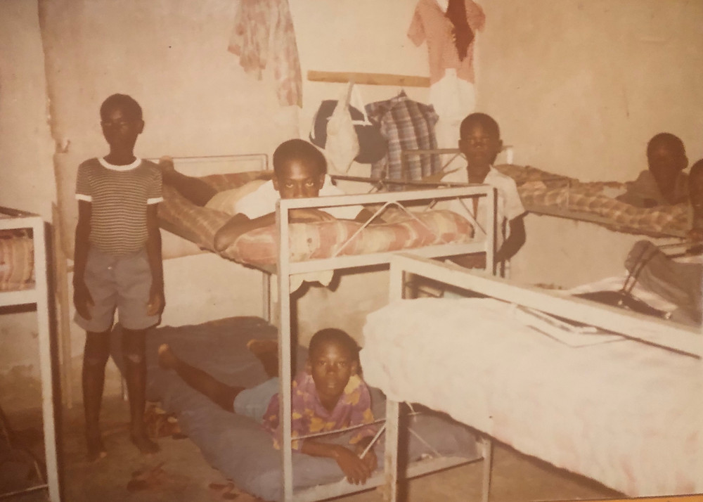Children's Home where Marc lived from 12-25 years old. (Marc on the top bunk - 15 years old)