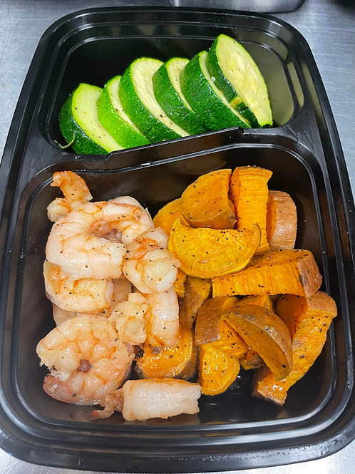 Honey Garlic Shrimp Meal