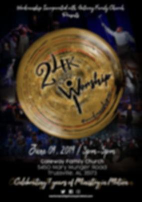 24k Worship Flyer 2019